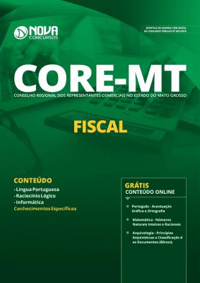 Apostila Concurso CORE MT 2019 Fiscal Grátis Cursos Online