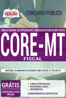 Apostila Concurso CORE MT 2019 Fiscal PDF e Impressa