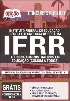 Apostila Concurso IFRR 2019 Técnico Administrativo em Educação PDF Download Digital e Impressa