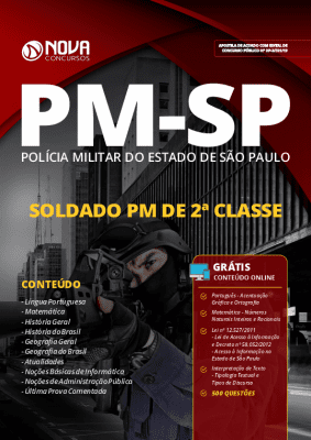 Apostila Concurso PM SP 2019 Soldado PM Grátis Cursos Online