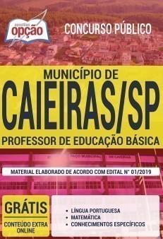 Apostila Concurso Prefeitura de Caieiras 2019 PDF e Impressa