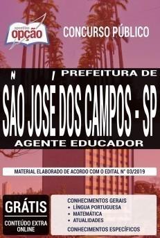 Apostila Concurso Prefeitura de São José dos Campos 2019 PDF e Impressa
