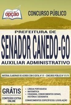 Apostila Concurso Prefeitura de Senador Canedo 2019 PDF e Impressa