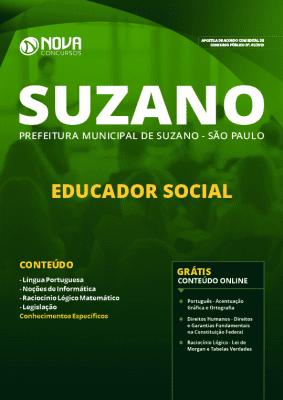 Apostila Concurso Prefeitura de Suzano 2019 Educador Social Grátis Cursos Online