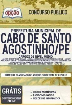 Apostila Concurso Prefeitura do Cabo de Santo Agostinho 2019