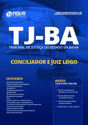 Apostila Concurso TJ BA 2019 Conciliador e Juiz Leigo Grátis Cursos Online