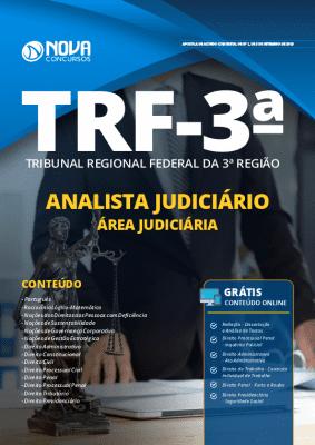 Apostila Concurso TRF 3ª Região 2019 Analista Judiciário Área Judiciária Grátis Cursos Online