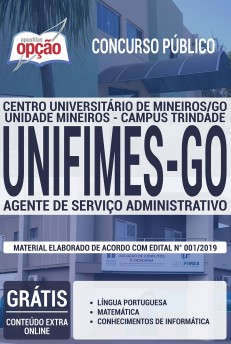 Apostila Concurso UNIFIMES 2019 PDF Download e Impressa