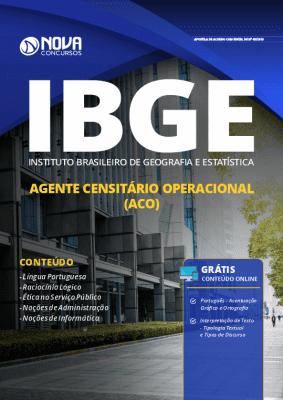 Apostila IBGE 2019 Agente Censitário Operacional Grátis Cursos Online