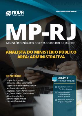 Apostila MP RJ 2019 Analista do Ministério Público Área Administrativa Grátis Cursos Online