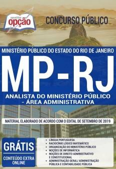 Apostila MP RJ 2019 Analista do Ministério Público Área Administrativa PDF e Impressa