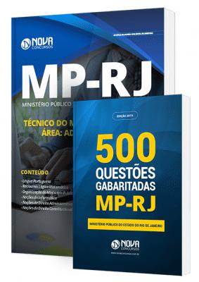 Apostila MP RJ 2019 Técnico Área Administrativa Combo