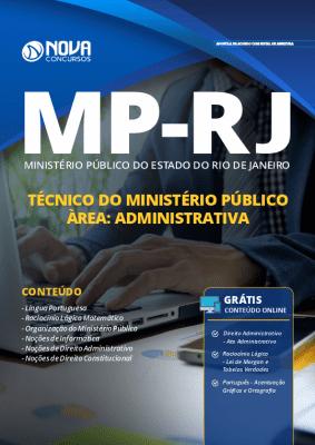 Apostila MP RJ 2019 Técnico do Ministério Público Área Administrativa Grátis Cursos Online