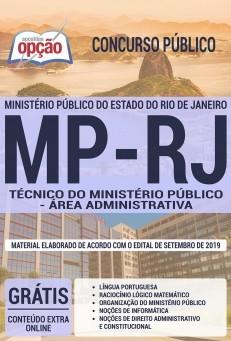Apostila MP RJ 2019 Técnico do Ministério Público Área Administrativa PDF e Impressa
