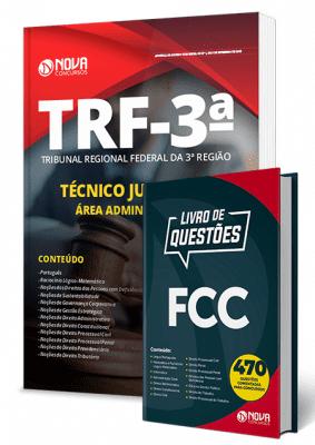 Apostila TRF 3 2019 Técnico Judiciário Área Administrativa