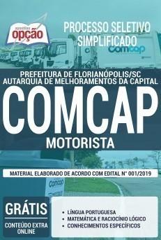 Apostila Concurso COMCAP 2019 Florianópolis PDF e Impressa