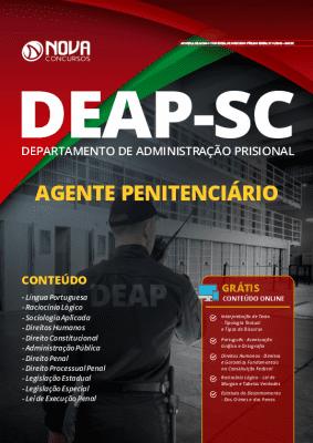Apostila Concurso DEAP SC 2019 Grátis Cursos Online Agente Penitenciário