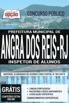 Apostila Concurso Prefeitura de Angra dos Reis 2019 Inspetor de Alunos PDF e Impressa