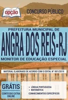 Apostila Concurso Prefeitura de Angra dos Reis 2019 Monitor de Educação Especial PDF e Impressa