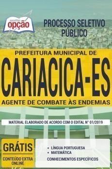 Apostila Concurso Prefeitura de Cariacica 2019 Agente de Combate às Endemias
