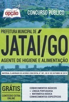 Apostila Concurso Prefeitura de Jataí 2019 Agente de Higiene e Alimentação PDF e Impressa