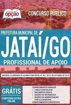 Apostila Concurso Prefeitura de Jataí 2019 Profissional de Apoio PDF e Impressa
