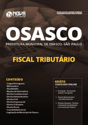 Apostila Concurso Prefeitura de Osasco 2019 Fiscal Tributário Grátis Cursos Online