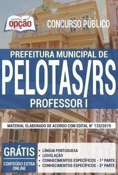 Apostila Concurso Prefeitura de Pelotas 2019 Professor I PDF e Impressa