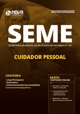 Apostila Concurso SEME AC 2019 Grátis Cursos Online