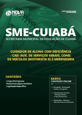 Apostila Concurso Prefeitura de Cuiabá 2019 Cargos de Nível Médio Grátis Cursos Online