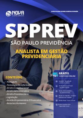 Apostila Concurso SPPREV 2019 Analista Grátis Cursos Online