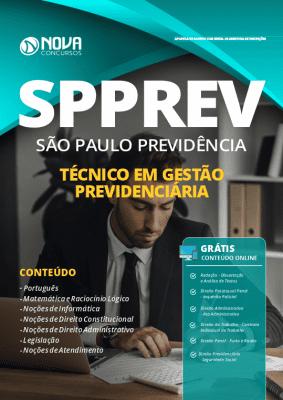 Apostila Concurso SPPREV 2019 Técnico Grátis Cursos Online