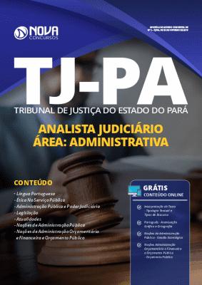 Apostila Concurso TJ PA 2019 Analista Judiciário Área Administrativa Grátis Cursos Online