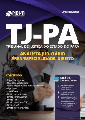 Apostila Concurso TJ PA 2019 Analista Judiciário Direito Grátis Cursos Online