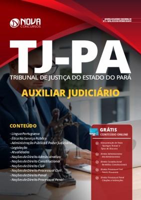 Apostila Concurso TJ PA 2019 Auxiliar Judiciário Grátis Cursos Online