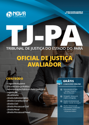 Apostila TJ PA 2019 Oficial de Justiça Grátis Cursos Online