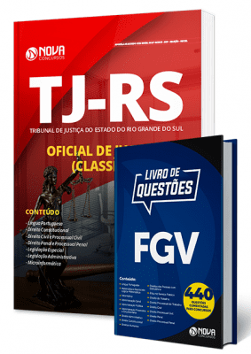 Apostila Concurso TJ RS 2019 Oficial de Justiça Combo