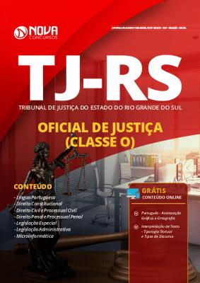 Apostila Concurso TJ RS 2019 Oficial de Justiça Grátis Cursos Online