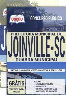 Apostila Guarda Municipal Joinville 2019 PDF e Impressa