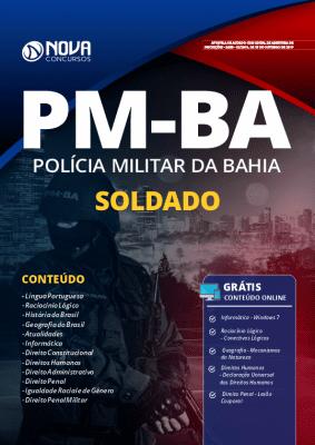 Apostila PM BA 2019 Impressa e PDF Grátis Cursos Online Soldado PM