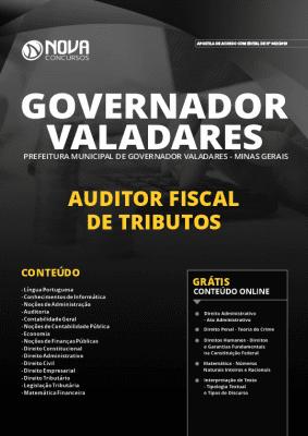 Apostila Concurso Prefeitura de Governador Valadares 2019 Grátis Cursos Online
