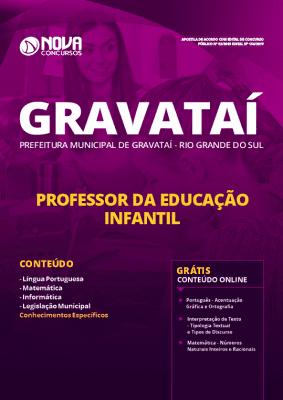Apostila Prefeitura de Gravataí 2019 Professor da Educação Infantil Grátis Cursos Online