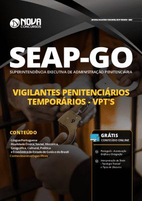 Apostila SEAP GO 2019 Vigilante Penitenciário Grátis Cursos Online