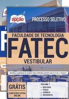 Apostila Vestibular FATEC 2019 2020 PDF e Impressa