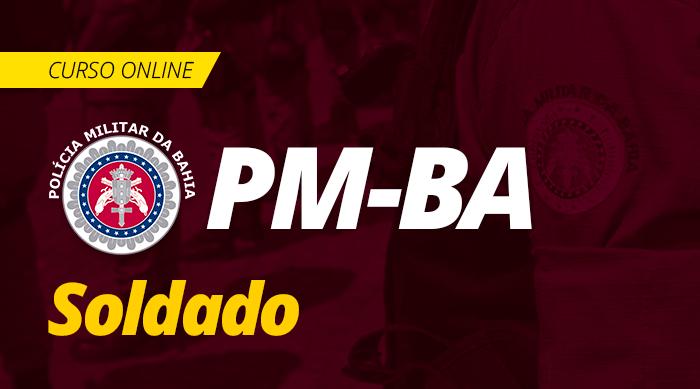Curso Online PM BA 2019 Soldado PM Completo