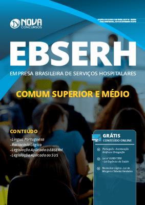 Apostila Concurso EBSERH 2019 Nível Médio e Superior Grátis Cursos Online