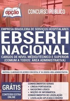 Apostila Concurso EBSERH 2019 PDF e Impressa