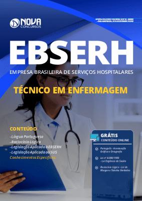 Apostila Concurso EBSERH 2019 Técnico em Enfermagem Grátis Cursos Online