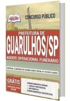 Apostila Concurso Prefeitura de Guarulhos 2019 PDF e Impressa