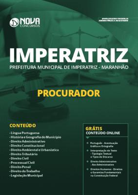 Apostila Concurso Prefeitura de Imperatriz 2019 Grátis Cursos Online